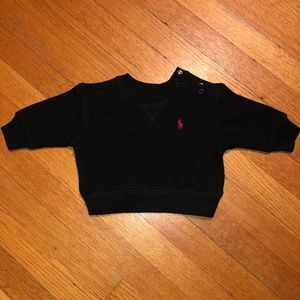 Black Ralph Lauren Sweater Size 3M